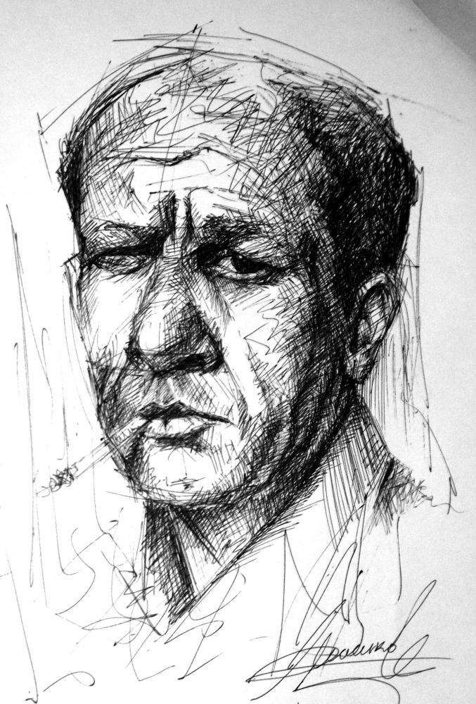 Jackson Pollock by MACUKOV